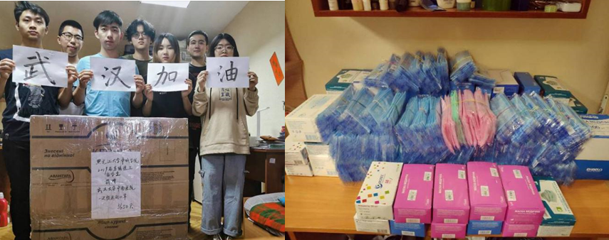 抗击疫情,乌克兰中国留学生在行动