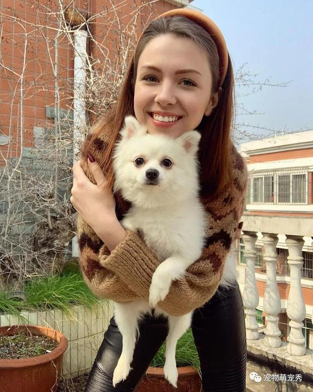 乌克兰美女拒绝撤离武汉,因狗狗被禁上包机,要走一起走!