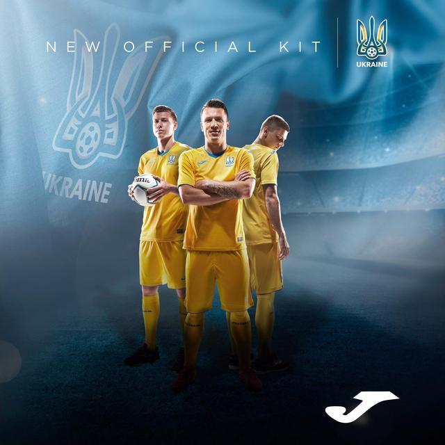 乌克兰国家队2020/21年主客场球衣发布