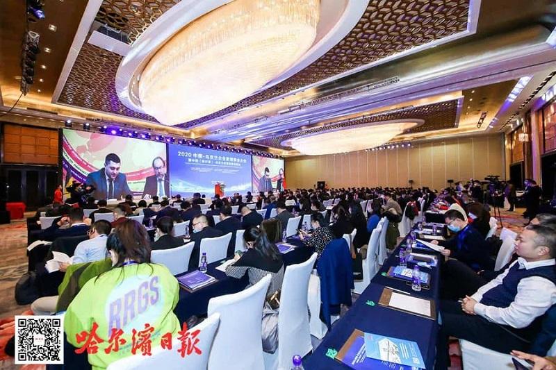 2020中国—乌克兰企业家理事会大会暨中国(哈尔滨)—乌克兰经贸投资洽谈会在京举行