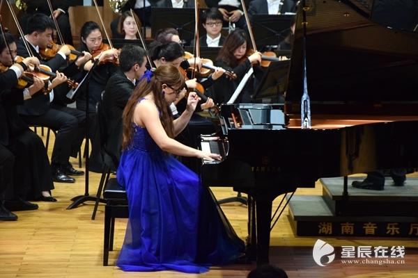 乌克兰钢琴演奏碰撞湖南交响乐团