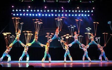 中国参加乌克兰国际青少年杂技艺术节比赛