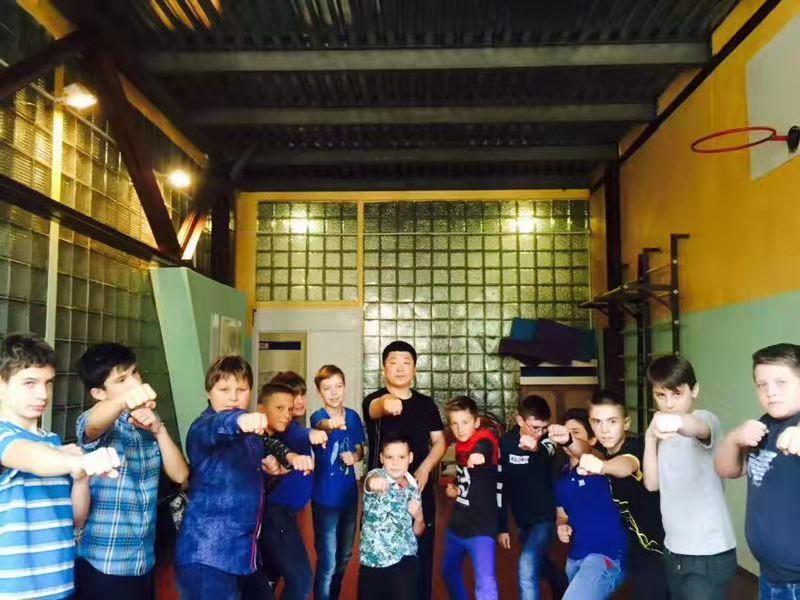 韩长良的乌克兰传奇:中国传统武术巧胜乌克兰军警搏击高手