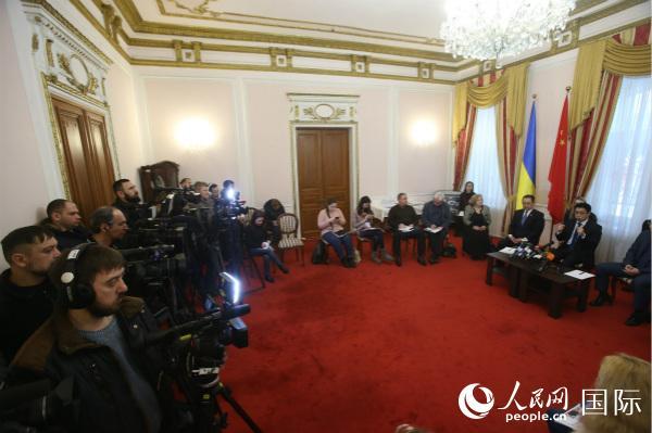驻乌克兰使馆:中乌互利合作的良好发展态势不会改变